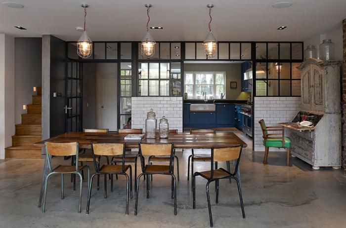 Stiff-and-Trevillion-remodel-West-London-Victorian-industrial-kitchen-subway-tiles (incorporates some small elements of steam punk)