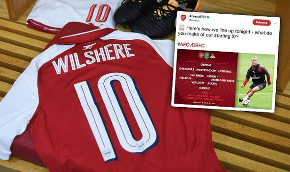 Arsenal team sends fans wild as Wilshere and Nelson among 11 changes against Doncaster   via Arsenal FC - Latest news gossip and videos http://ift.tt/2jLTbp7  Arsenal FC - Latest news gossip and videos IFTTT