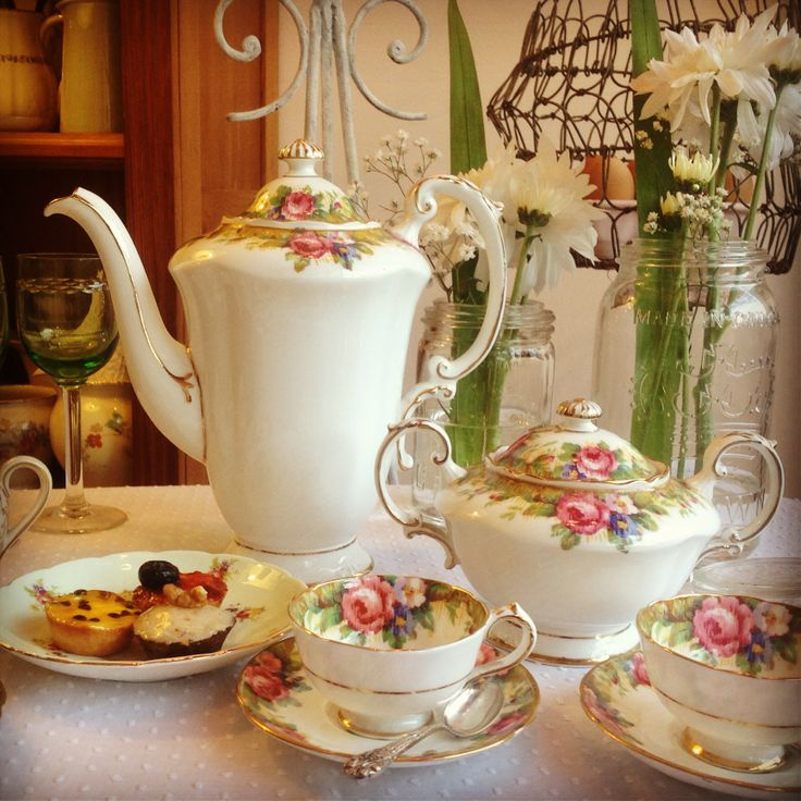 Piezas de servir té: Paragon - England Té, Chocolate y Café