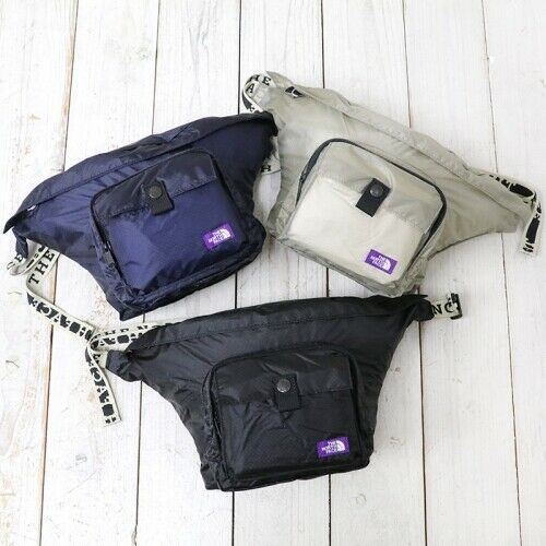f9dc61e29 THE NORTH FACE PURPLE LABEL Lightweight Logo Tape Waist Bag N7918N ...