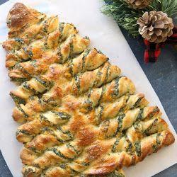 Weihnachtsbaum Spinat Dip Breadsticks – Die besten leckeren Rezepte im Web