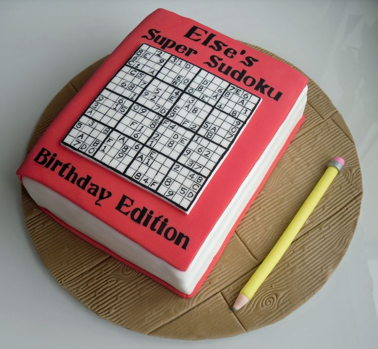 Super Sudoku Cake by The Coloured Bubble Cakery - Find us on Facebook!