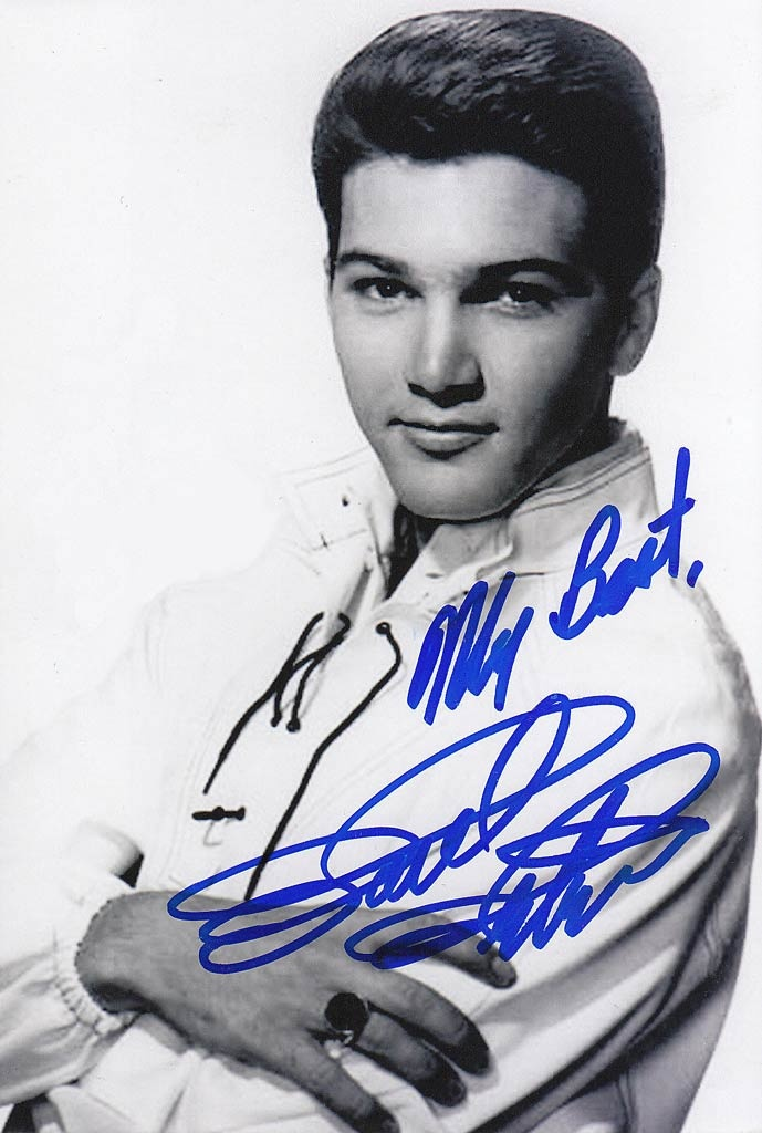 Paul Petersen - Not quite Ricky Nelson, but a good-looking kid from '50s TV.