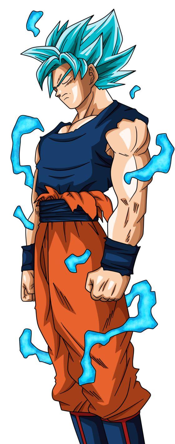 This is my drawing of Goku in SS Blue based on Manga 24 of Dragon Ball Super. Hope you like! Este es mi dibujo de Goku en SSJ Blue basado en el Manga 24 de Dragon Ball Super. ¡Espero que te gu...