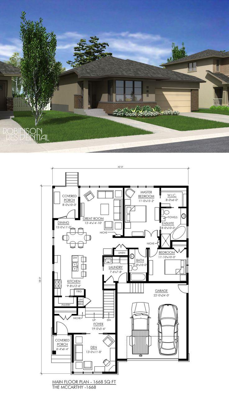 1668 sq. ft, 2 bedroom, 2 bath.