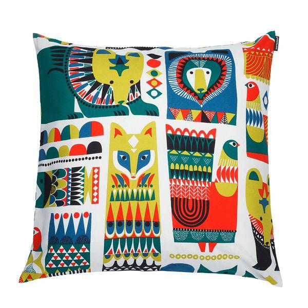 Kukkuluuruu cushion cover by Marimekko.
