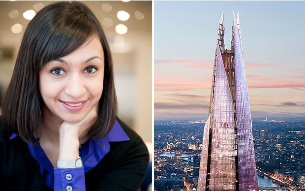 From India to London Bridge: How the UK's rising engineering star Roma Agrawal helped build The Shard - Telegraph