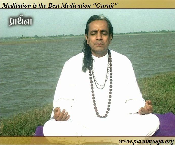Meditation is the best medication