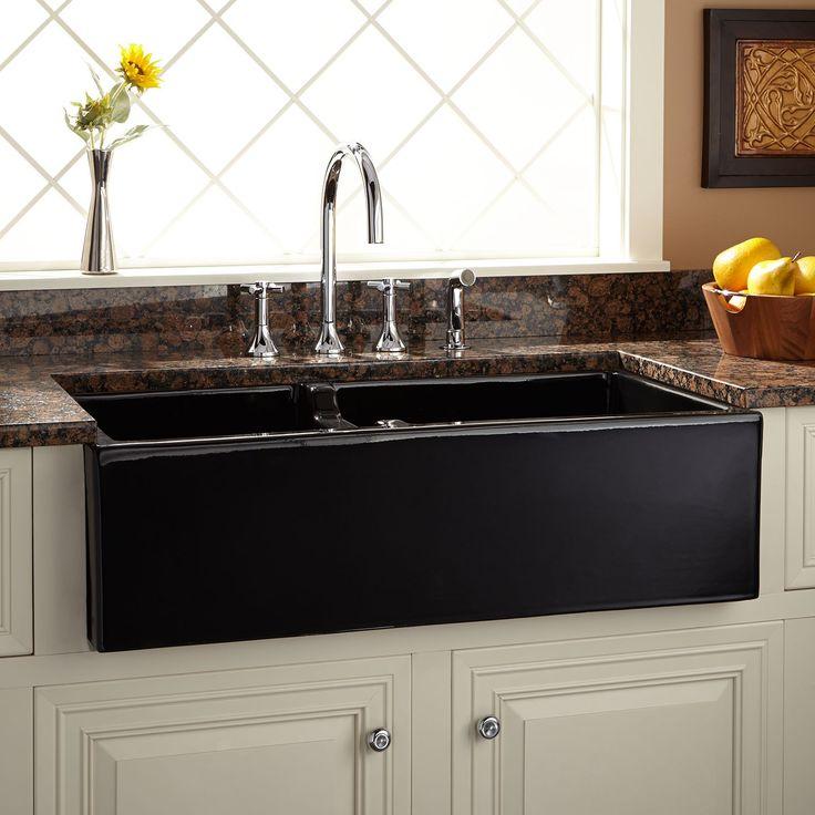 17 Best Ideas About Black Kitchen Sinks On Pinterest Black Sink Kitchen Si