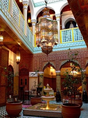 Hotel, Casablanca, MOROCCO.  This was the first hotel I stayed in when I visited in 2005, it was so much fun.
