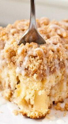 Apple Crumb Coffee Cake                                                                                                                                                                                 More
