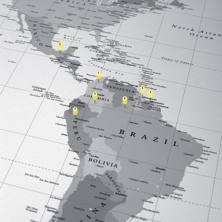 World map u003cemu003efor Moncole 158 best