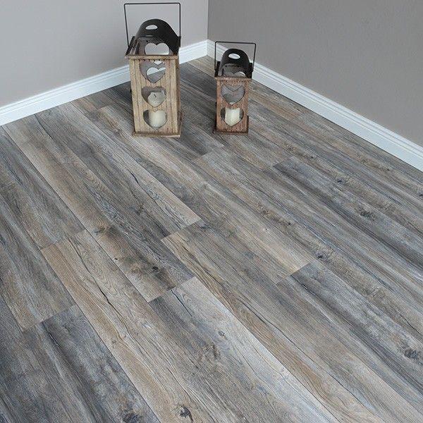Robusto 12mm Harbour Oak Grey Laminate Flooring In 2020 Grey Laminate Flooring Living Room Wood Floor Gray Wood Laminate Flooring
