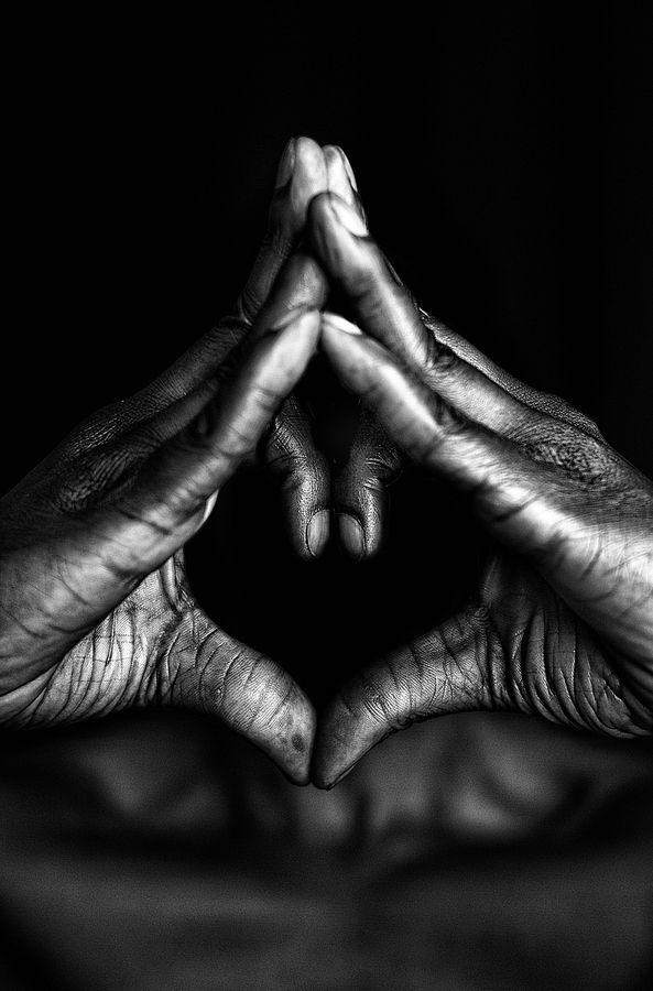 Black hand in white c imagines