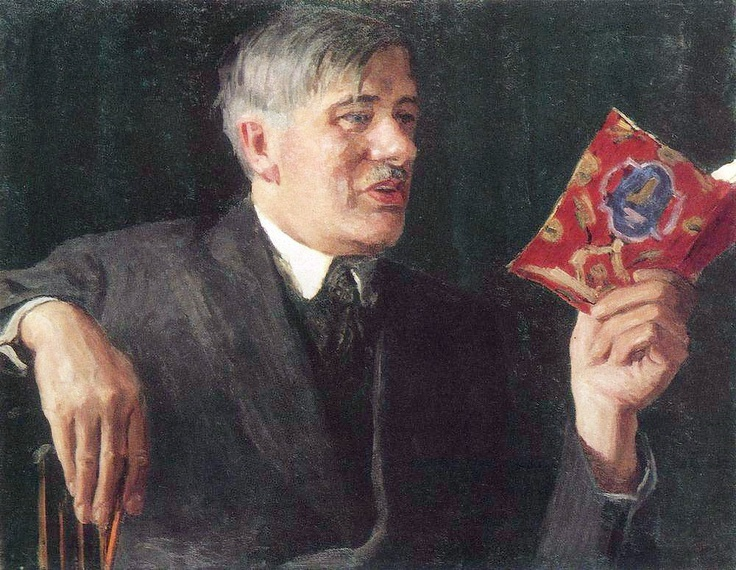 Portrait of Korney Chukovsky, 1935 Igor Grabar