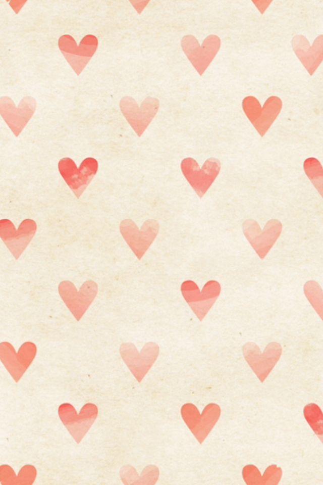 Hearts iphone wallpaper! Love it ❤️