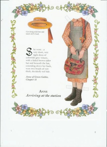 28 best images about anne of green gables paper dolls on for Anne of green gables crafts