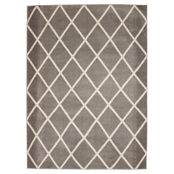 Lepley Geometric Gray Area Rug Area Rugs Trellis Design