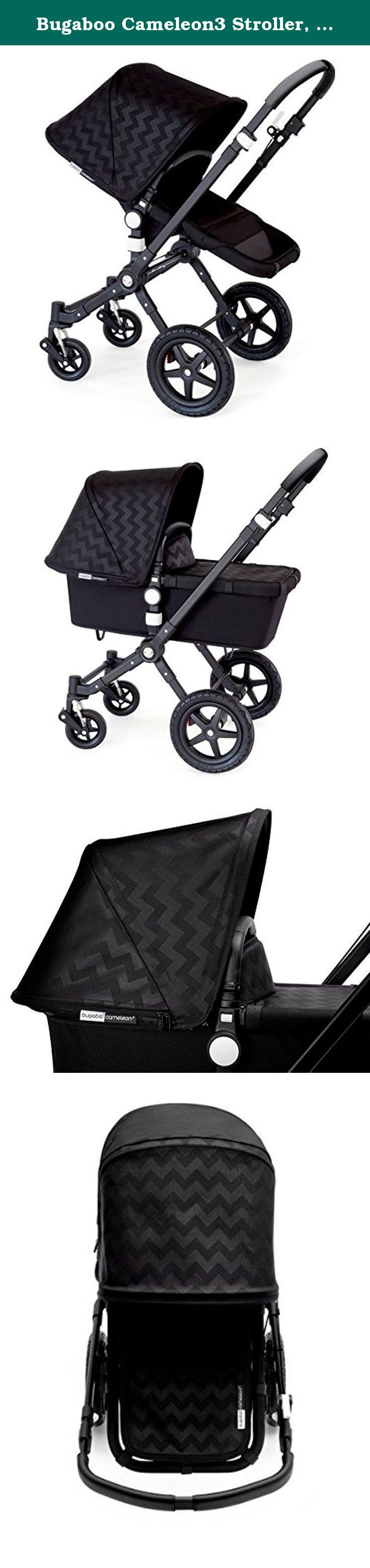 Bugaboo Cameleon3 Stroller, LIMITED EDITION Intense Black