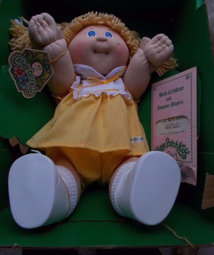 Cabbage patch dolls named grace