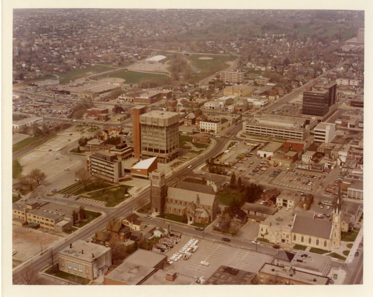 LH0074 Four Corners - Downtown Oshawa - Aerial View