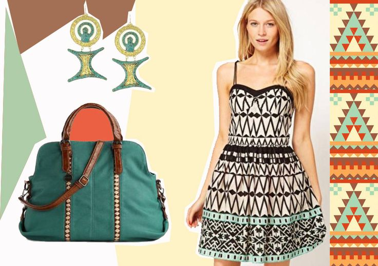 Designers have taken a turn by diverting themselves to the tribal world all over. Tribal trends have become popular and fashion chics are going crazy for the beauty living in the tribal lands.