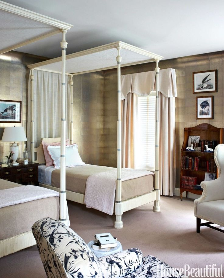 Get the Look: A 1930's Inspired Guest Bedroom by Tom Scheerer I know the Fourth of July has come and gone, but there's still plenty of summer left. With summer comes plenty of out of town guests....