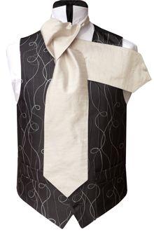WWW.TOMSAWYERWAISTCOATS.CO.UK - Neckwear Tailored How to tie a Cravat Buy UK