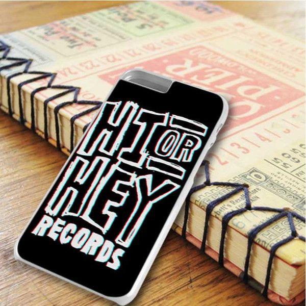 Hi Or Hey Records On Black iPhone 6 Plus|iPhone 6S Plus Case