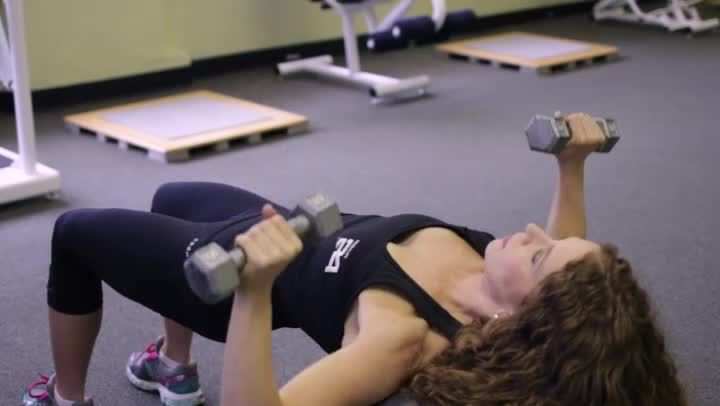 Ultimate Chest Workout Routine (Video) | LIVESTRONG.COM
