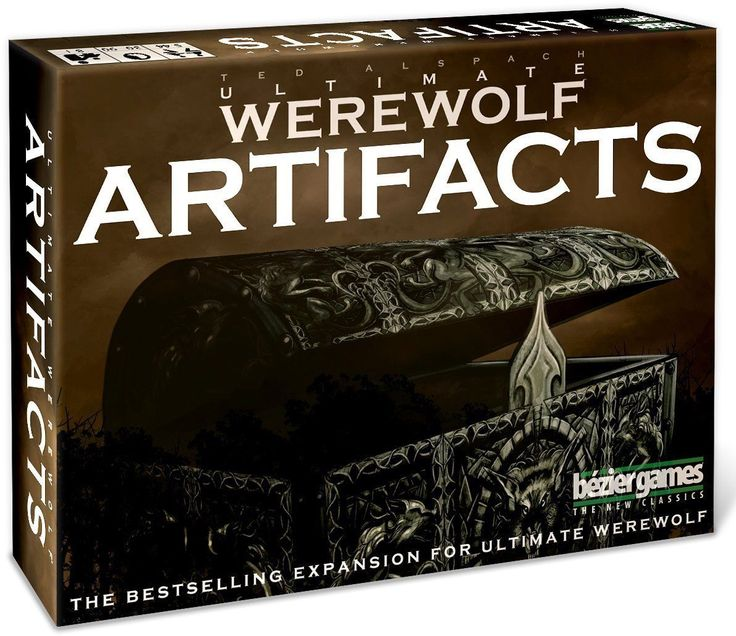 Bezier Games  Ultimate Werewolf  Artifacts  2nd Edition Card Game Brand New