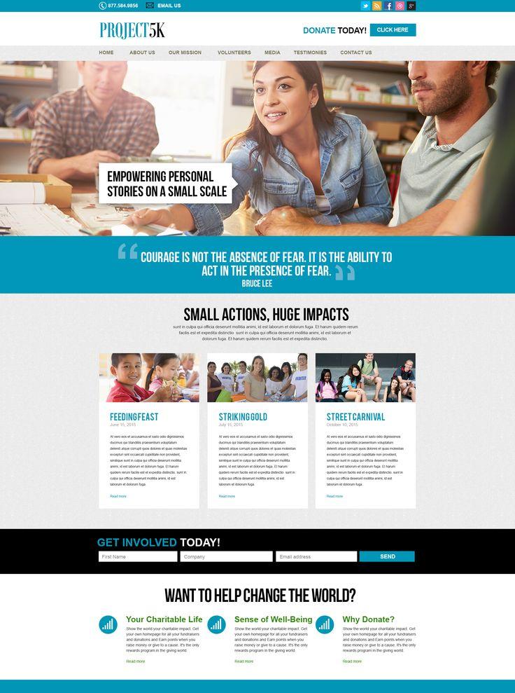 Charity website, 5k event website, volunteer work, charity work, website Design inspiration, website for non-profits, charity organization websites.