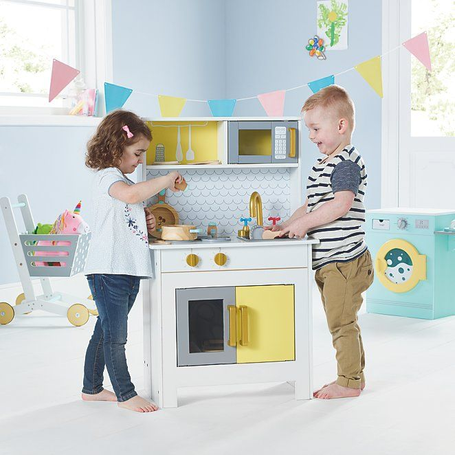 Wooden Foldaway Kitchen Toys Character George Toy Kitchen