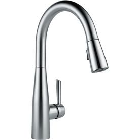 Delta Essa Arctic Stainless 1-Handle Pull-Down Kitchen Faucet 9113-Ar-