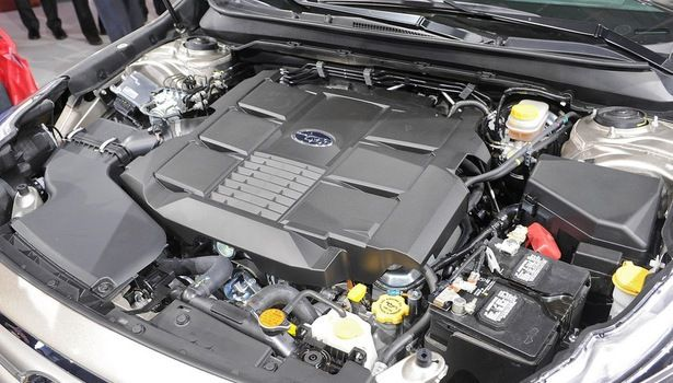 2017 Subaru Outback - engine