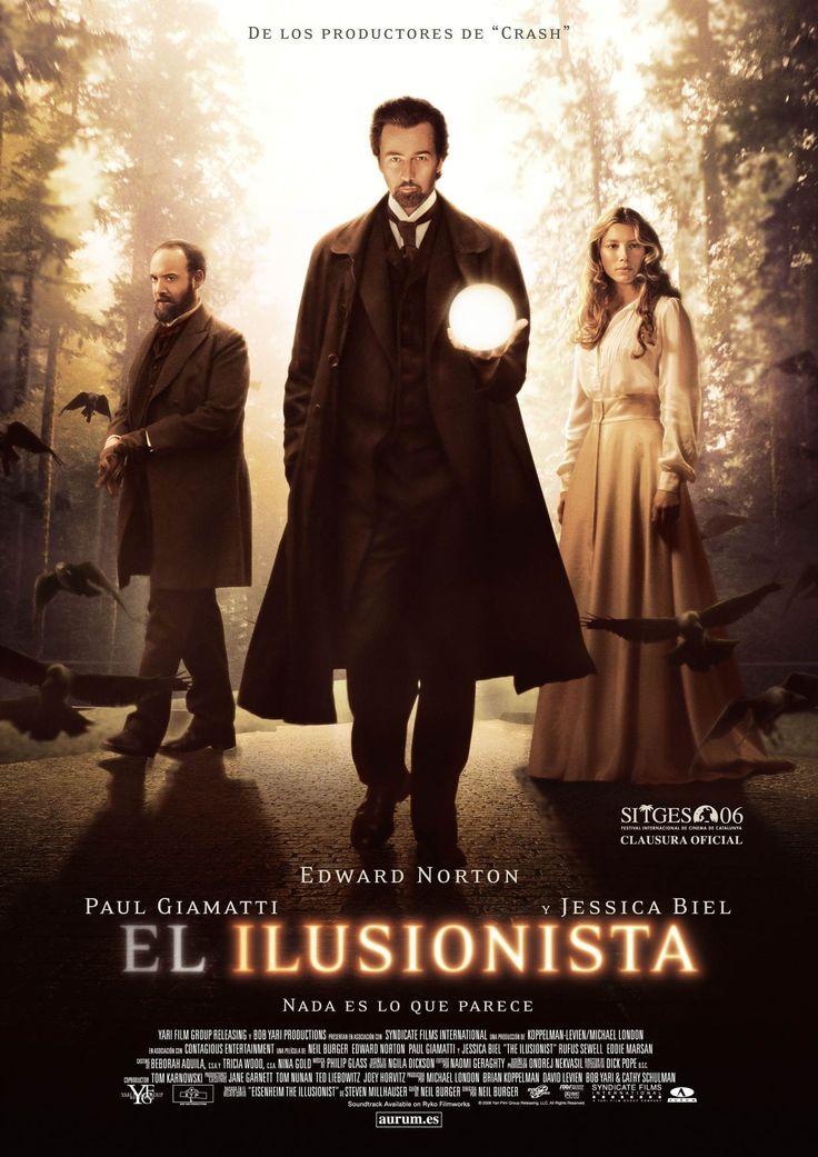 El ilusionista (2006) - Ver Películas Online Gratis - Ver El ilusionista Online Gratis #ElIlusionista - http://mwfo.pro/182982