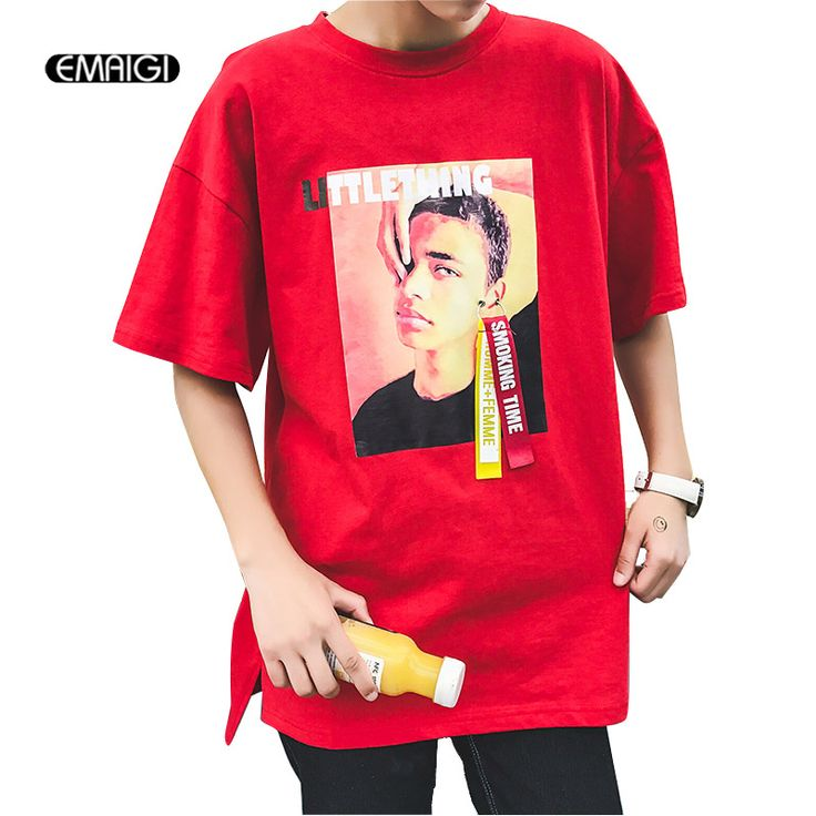 >> Click to Buy << Large Size M-5XL Men Loose Short Sleeve T-shirt Image Printing Street Fashion Hip-hop Male Teens Casual Tees Shirt #Affiliate