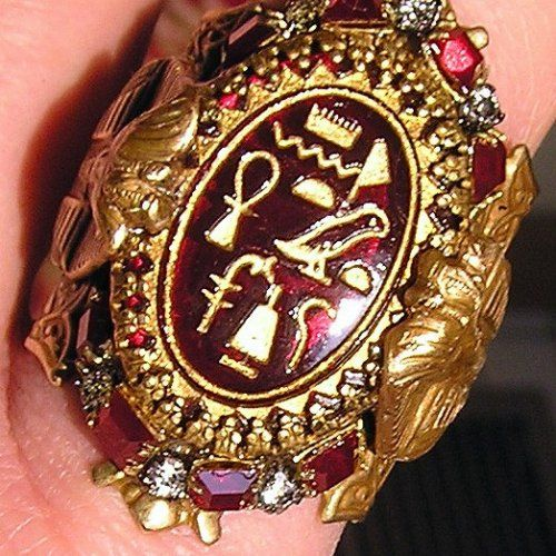 Antique Ring - Egyptian Style