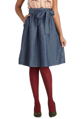 What a Surprise Skirt, #ModCloth