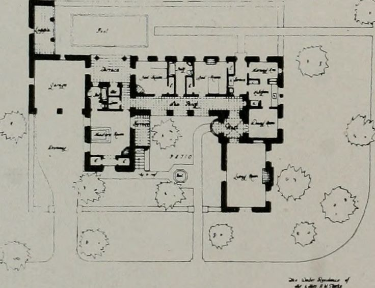 Image from page 165 of architect and engineer 1905 for Atomic ranch floor plans