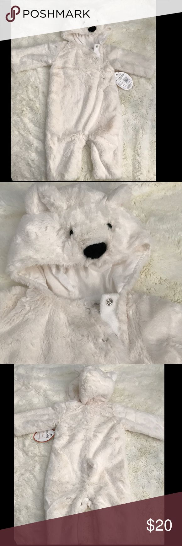 Halloween👻 Polar Bear 0-6 Month old Halloween outfit. Never worn / tags. pottery barn Kids  Costumes Halloween