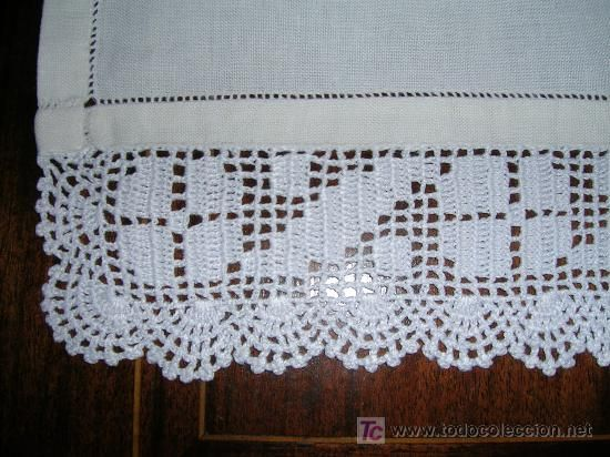 Puntas de crochet para manteles imagui crochet - Mantel de crochet ...