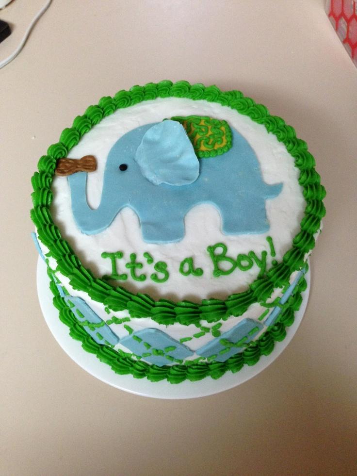 Cake Artist Sarah Jones : Sarah Jones Cakes!: Shower Cakes Elephant with Peanut ...