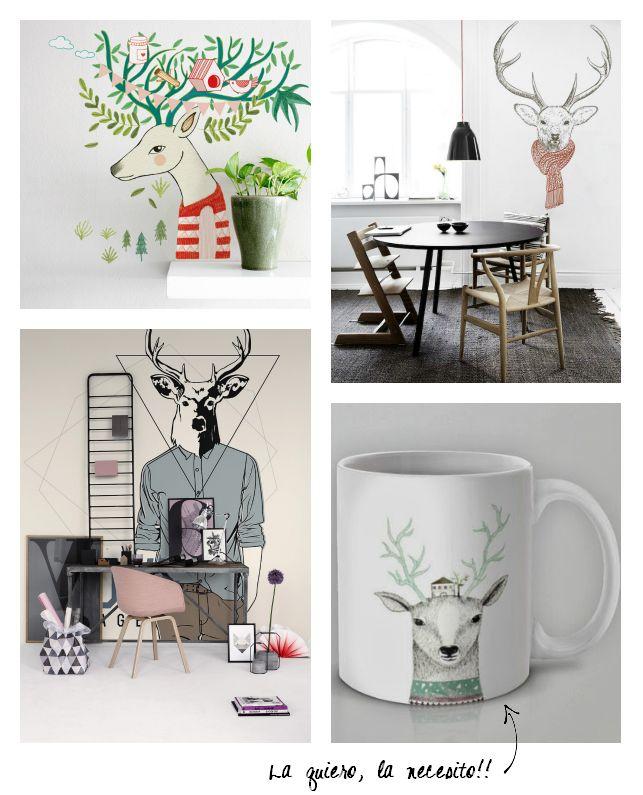Inspiración   DIY con cuernos | La Garbatella: blog de decoración, estilo nórdico.