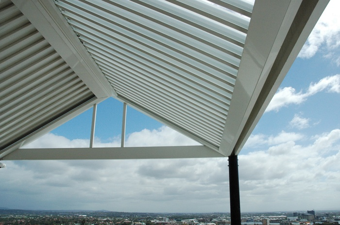 Eclipse Opening Roof - Steelbond. Do I want pitched??