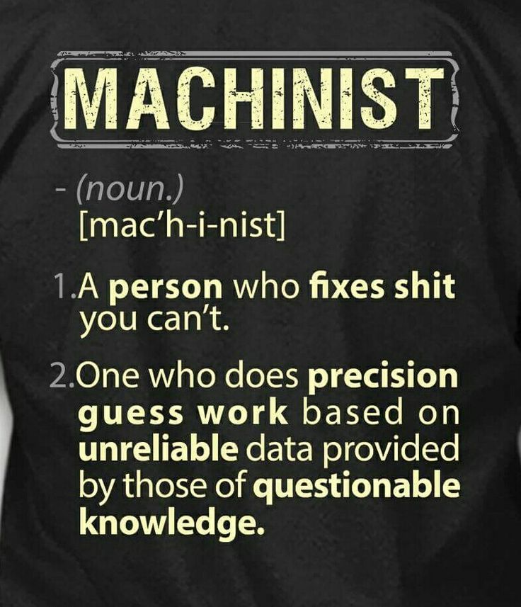18 best machinist images on Pinterest Blacksmith tools, Car humor - new machinist blueprint examples