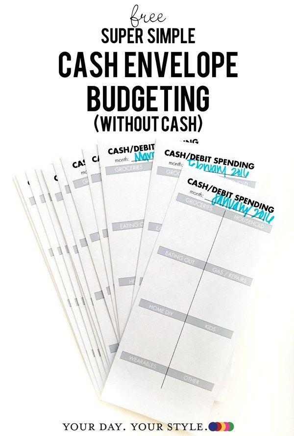 1000+ ideas about Cash Envelope Budget on Pinterest ...