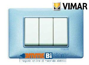 Placca 3 posti Vimar Plana 14653.51  #vimar #seriecivile #plana #prezzoplacche #arredare #arredamento #design #illuminazione #interni #emmebistore #placca #reflex