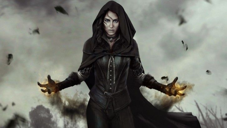 Download The Witcher 3 Wild Hunt Yennefer Game Art 1920x1080