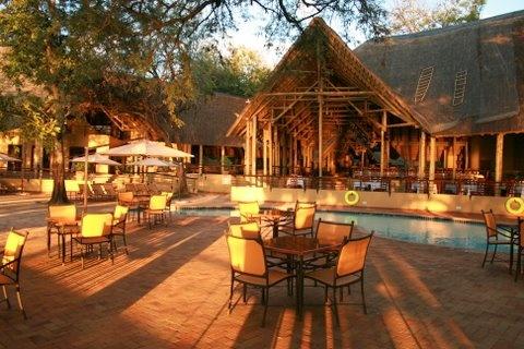Chobe Safari Lodge, Botswana.